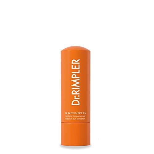 Dr. Rimpler Sonnencreme Stick LSF 25 I Sonnenschutz Pflegestift für empfindliche Körperpartien wie Lippen, Nasenrücken, Ohren oder Gesicht i Lichtschutz
