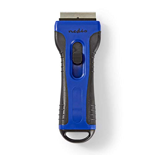 NEDIS CESC110BU Rasqueta de Limpieza | para Placas Vitrocer