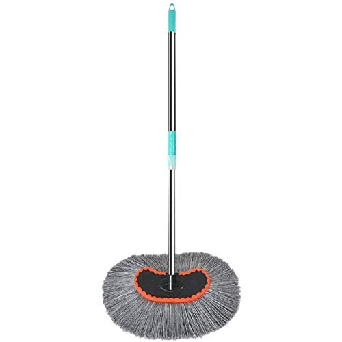 HKJZ SFLRW Lavado de Coches MOP Microfibra Cepillo de Lavado de Cepillo con la manija Larga de la aleación de Aluminio - No es Malo Painter Scratch Libre 180 ° Herramienta de Limpieza de rotación