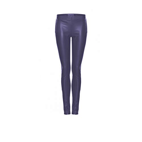 Frieda & Freddies NY Damen - Lederhose - Lederlegging - blau - Art: 14015 (40)