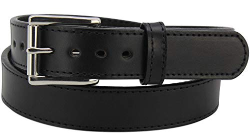 """Max Thickness Work Gun Belt - Rigid CCW Belts for Men - 1.50"""" Wide - Made in USA"""