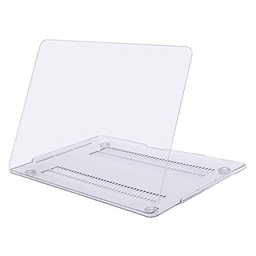MOSISO MacBook Pro 13 inch Case 2019 2018 2017 2016 Release A2159 A1989 A1706 A1708, Plastic Hard Shell Cover Compatible with MacBook Pro 13 with/without Touch Bar and Touch ID, Clear