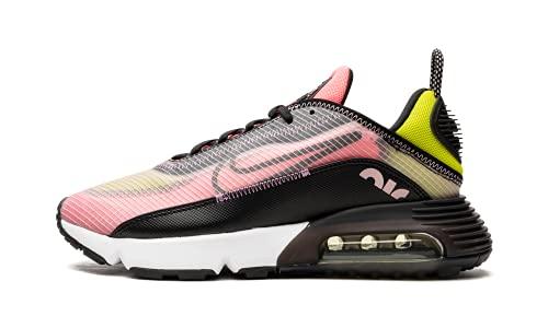 Nike W Air MAX 2090, Zapatillas para Correr Mujer, Champán Black Sunset Pulse Cyber Violet Shock White, 38 EU