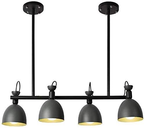 De plafondlamp van Postmodern Nordic tak slaapkamer van massief hout woonkamer tafel Magic Bean moleculair van de kroonluchter voor thuis (4 koppen) lamp voor het eten aan het plafond van de LED