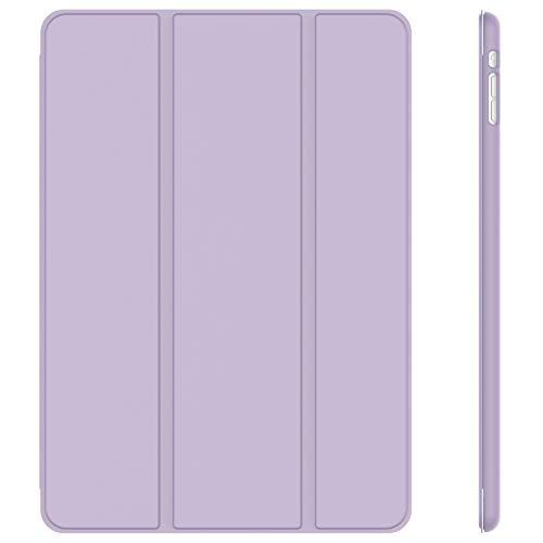 JETech Hülle Kompatibel iPad Mini 1 2 3, Schutzhülle mit Ständer Funktion & Auto Einschlafen/Aufwachen, Helles Lila