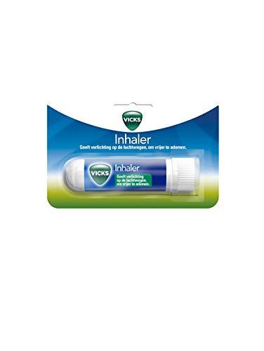 Vicks Colds Inhaler - Inhaler geeft verlichting op de luchtwegen, om vrijer te ademen - 1 stuk