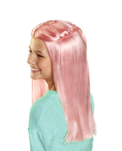 CGH Cute Girls Hairstyles! Wig - Pink Straight Hair Style & Wear Wig