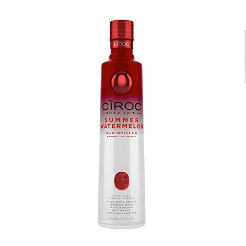 Cîroc Watermelon - Vodka francés con sabor a sandía Edición limitada, 70 cl