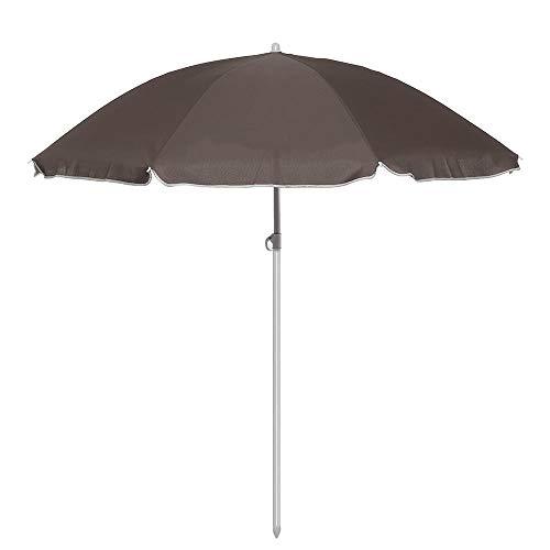 ZDAMN Luifel schaduw 8 Ribs Staal Polen Strand Paraplu Verstelbare Tuin Patio Parasol Zonnescherm Gemakkelijk Opslag En Vervoer