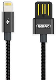 Remax metal data and chargibg high speed cable LIGHTNING rc-080i BLACK