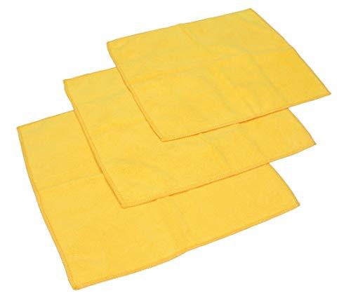 Betz Microfaser Reinigungstücher gelb 30 x 30 cm (3er-Pack)
