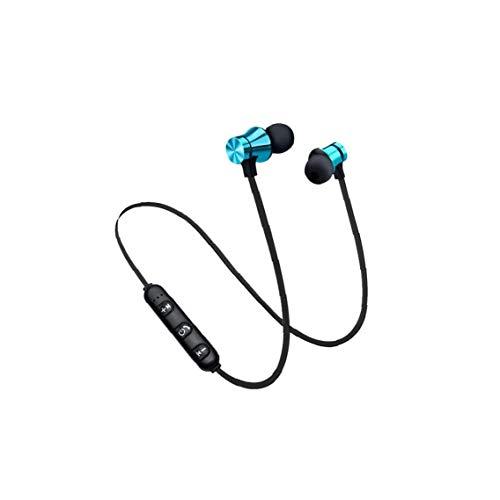 Magnetiska Bluetooth-hörlurar vattentäta in-ear Bluetooth hörlurar trådlösa hörlurar musik headset för sport svart blå färg musikinstrument och DJ