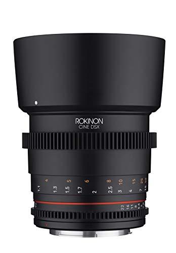 Rokinon 85mm T1.5 High Speed Full Frame Cine DSX Lens for Canon RF