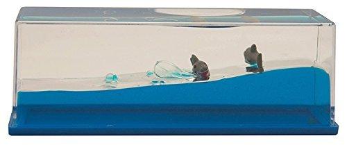 Wave Motion Liquid Paperweight (Shark)