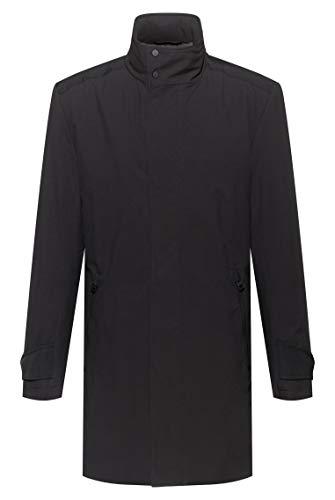 HUGO Menco2041 Dress Coat, Negro (1), 46 para Hombre