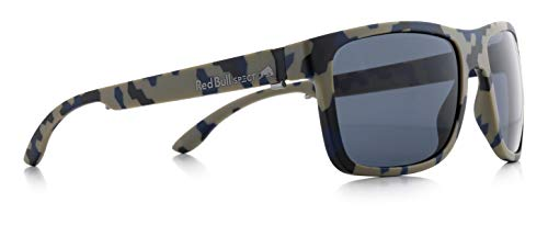 Gafas de sol Red Bull SPECT Wing1 Matt Camouflage-Smoke