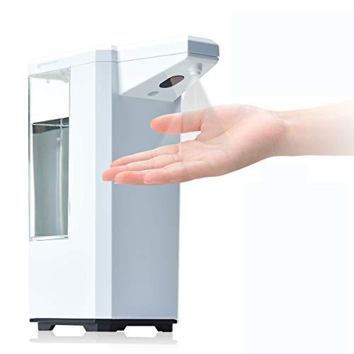Dispensador automático de alcohol sin contacto con sensor inteligente infrarrojo para el hogar, Kithchen, hotel, restaurante, gimnasio, centro comercial, recepción de la empresa, hospital, 500ml