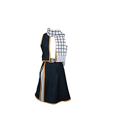 Jeylu Disfraz de cola de hada Natsu Dragneel para cosplay (talla UE)