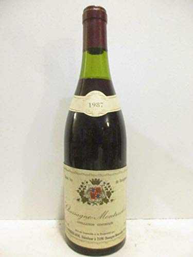 chassagne-montrachet duperrier-adam rouge 1987 - bourgogne