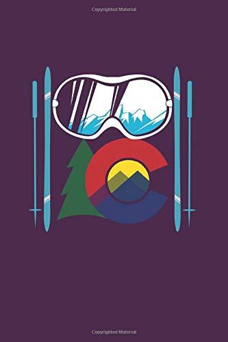 Colorado Ski: Xc Skiing Cross-Country Ski Gift 6X9 College Line Journal