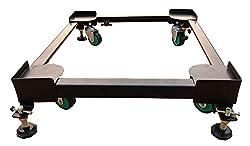 Irkaja Heavy Duty Adjustable Front/Top Load Fully/Semi-Automatic Washing Machine/Refrigerator/Fridge/Dishwasher Stand/Trolley with Wheels (Size: (16