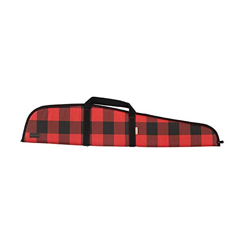 Allen Company Lakewood Heritage Rifle and Shotgun Gun Case, Universal, Red, 46 and 52 inches, Lockable with Thick Padding, Buffalo Plaid, Made in The USA