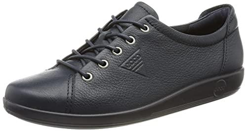 ECCO Damen Soft 2.0 Sneaker, Marine, 38 EU