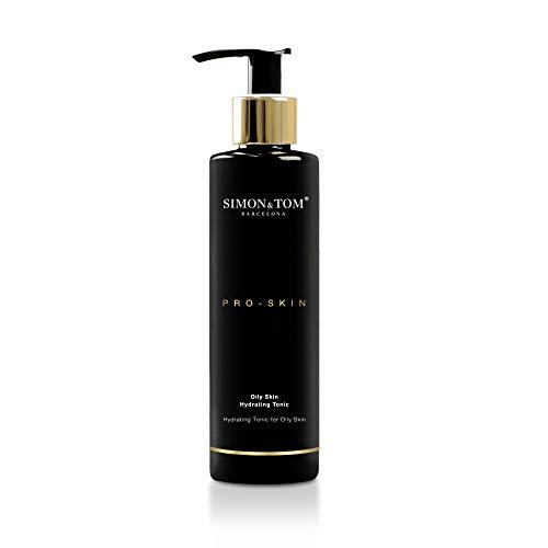 TONIQUE FACIAL HYDRATANT PRO SKIN SIMON & TOM - Pour les peaux grasses - Hydrate, rafraîchit et purifie / 200 ml.