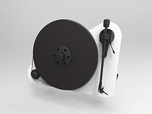 Pro-Ject Vte Tocadiscos a Posicionamiento Vertical, Derecho, blanco