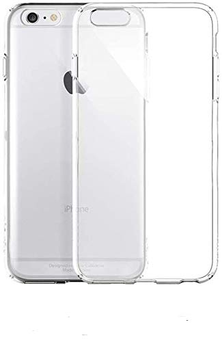 ultrapower100 Cover Custodia Trasparente Compatibile per iPhone 6, 6S Protezione Ultra Slim TPU Plastica Sottile Resistente Elastica Anti Graffio Anti Scivolo Anti Urto