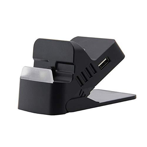Nachar Switch-TV-Dockingstation, Mini-4k-HDMI-Ersatz-Ladedock USB 3.0, Design der Kühlstruktur und verbesserte Sicht, TV-Projektions-Dockingstation, geeignet für Nintendo Switch (schwarz)