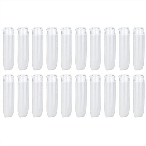 CUTULAMO Tubo Blando cosmético, Amplio Uso Botella cosmética exprimible Fácil de apretar Lavable para Rellenar sueros para Productos de Cuidado de la Piel para cremas(30ml)