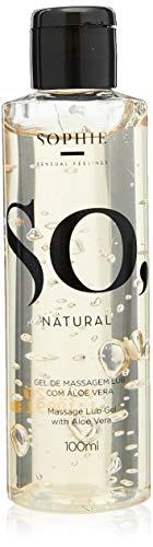 Lubrificante Com Aloe Vora - So Natural 100ml - Sophie, Sophie - Sensual Feelings