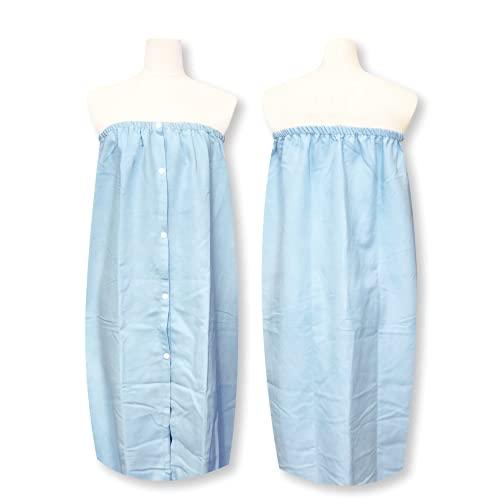 「 サラッとドライ まきまきタオル」 ブルー 83�p×125�p アスカタオル ラップタオル スイムタオル SMA-BLU