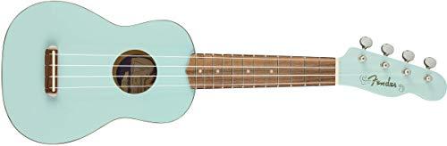 Fender Venice - Ukelele soprano, color azul