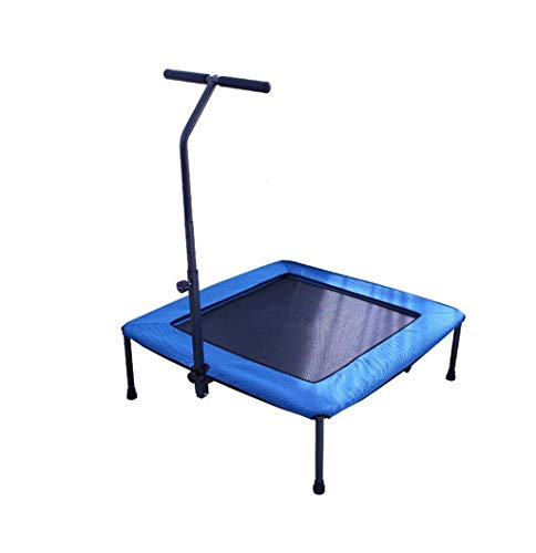 Opvouwbaar trampoline, fitness bed springen zonder net bescherming, volwassen fitness trampoline, elastisch koord trampoline, geruisloos trampoline indoor fitnessapparatuur