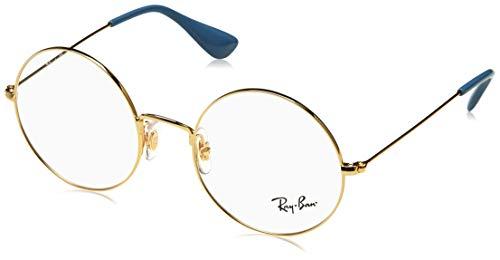 Ray-Ban 0RX6392, Monturas de Gafas Unisex Adulto, Dorado (Gold), 53