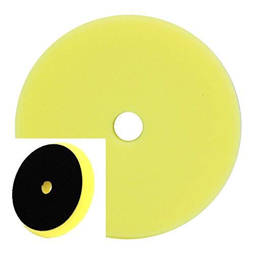 Preisvergleich Produktbild Dino KRAFTPAKET 640348 Polierpad mittelgroß 150 mm für 125 mm Trägerplatte (Kegel-Design),  gelb