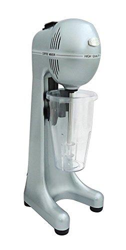 JOHNY Frappe Maker–400Watt 2SPEED gewerblichen Drink Mixer–Elektro Milch Shake Maker/silber/AK/2–2t-ral-s/Made in Griechenland