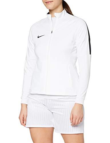Nike W NK Dry Acdmy18 Trk Jkt K Sport jacket, Mujer, White/ Black/ Black, S