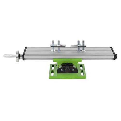 Yousiju Vise Mini Precision Multifunción Fresadora Banco Taladro Vise Mesa de Trabajo X Mesa de coordenadas de Ajuste del Eje Y