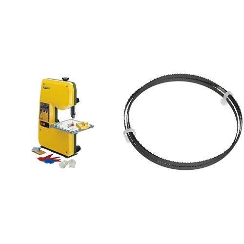 Proxxon 27172 Micro-Bandsäge MBS 240/E + Proxxon Bi-Metall-Sägeband für MICRO-Bandsäge MB, 28172