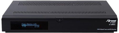 Xtrend ET 10000 Receiver HD (2 x DVB-C und 1x DVB-S2 Tuner Linux, Full HD, HbbTV, PVR Ready) schwarz