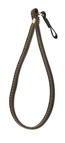 Brown Faux Leather Wrist Strap