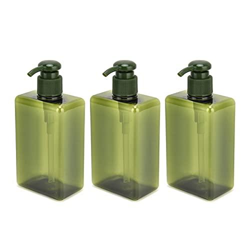 Leere Reiseflasche, Reiseflasche auslaufsicher zum Dosieren von Lotionen, Seifen, Shampoos, Spülungen, Duschgels und Duschgel