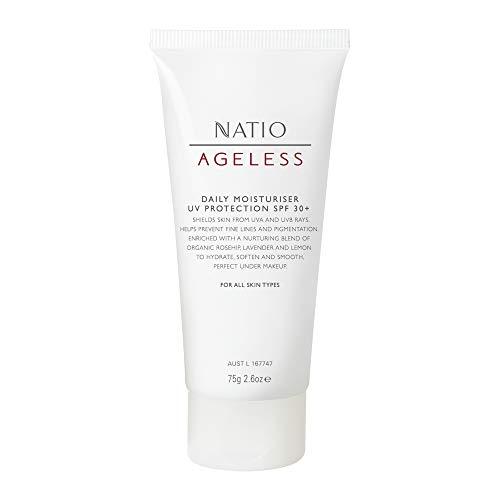 Natio - Ageless Protezione UV 30 Plus Idratante Giornaliero, 75g