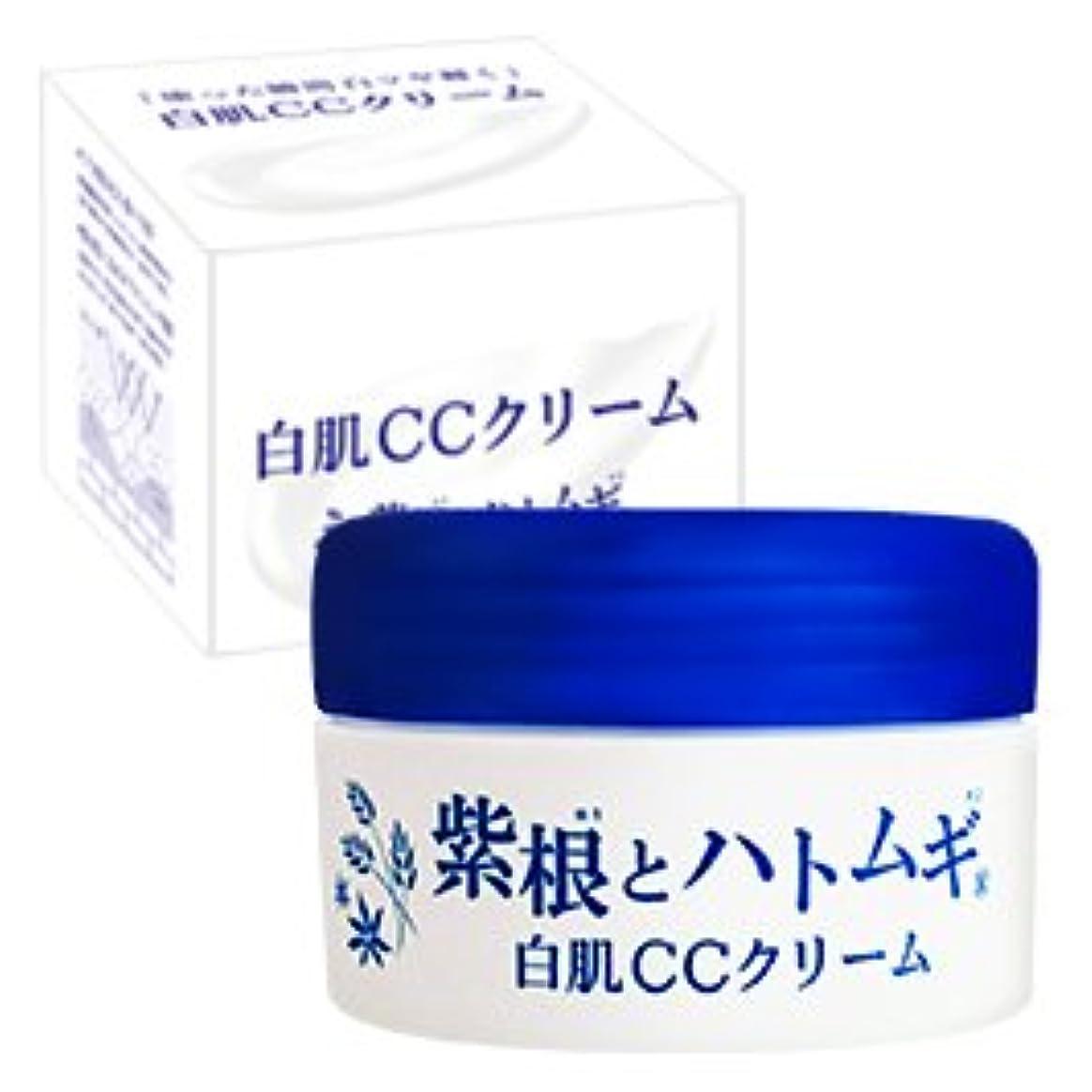 願うかまど関与する紫根とハトムギ 白肌CCクリーム 100g