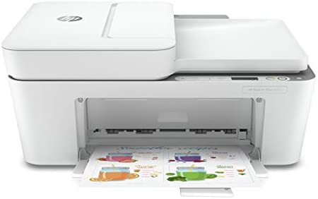 HP DeskJet Plus 4155 Wireless All in One Printer Mobile Print Scan Copy HP Instant Ink Ready product image