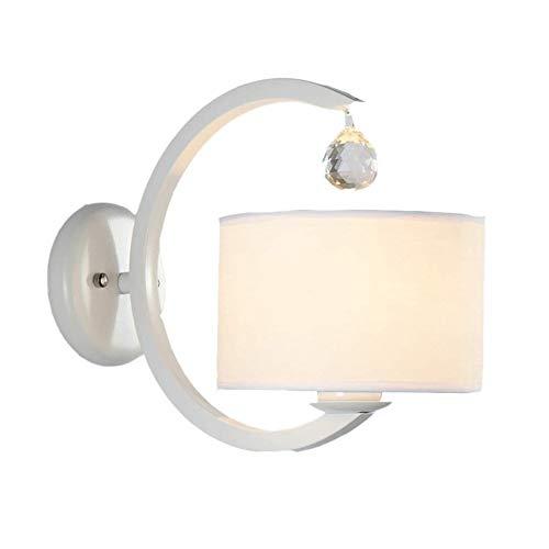 JIADUOBAO Lámpara de pared de lectura de cabecera, lámpara LED, candelabro de pared, lámpara de pared de sala de estar, lámpara de pared de pasillo, soporte