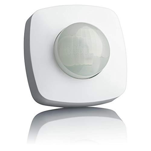 SEBSON® Bewegungsmelder Aussen IP65, Aufputz Decken Montage, programmierbar, 20x4m / 360°, LED geeignet, Infrarot Sensor mit 2 Sensoren, 3- Draht